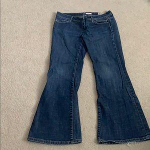 Gap size 8P limited edition flare jeans